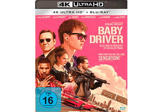 Baby Driver - (4K Ultra HD Blu-ray)