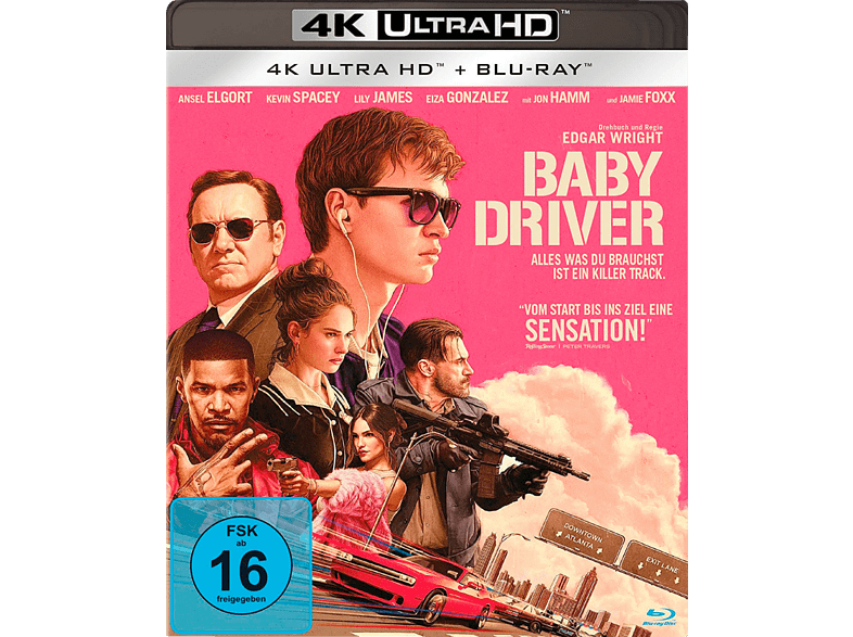Baby Driver [4K Ultra HD Blu-ray]