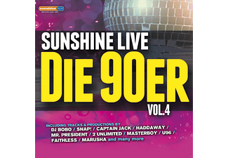 VARIOUS - Sunshine Live - Die 90er Vol. 4 - (CD)