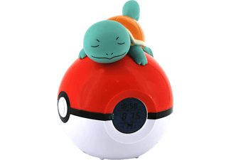 Schiggy Pokeball Wecker FM LED Lampe