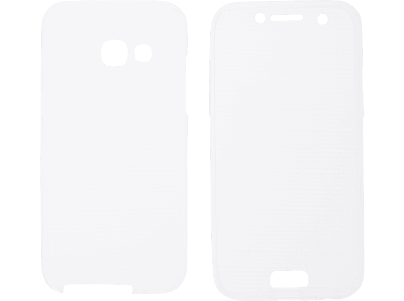 V-DESIGN V-LV 016 , Full Cover, Samsung, Galaxy A3 (2017), Thermoplastisches Polyurethan, Transparent