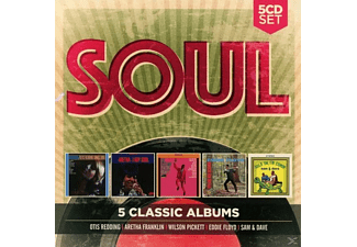 VARIOUS - 5 Classic Albums: Soul - (CD)