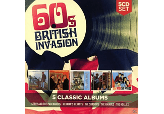 VARIOUS - 5 Classic Albums: 60s British Invasion - (CD)