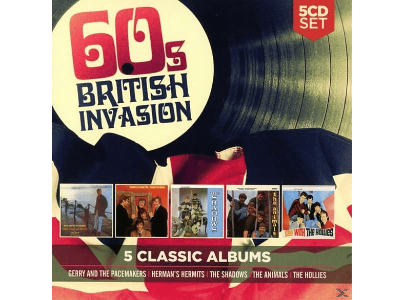 VARIOUS - 5 Classic Albums: 60s British Invasion [CD]