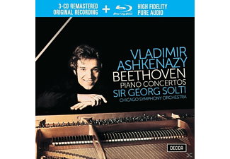 Vladimir Ashkenazy - Beethoven: The Piano Concertos (Ltd.Edt.) - (CD + Blu-ray Disc)