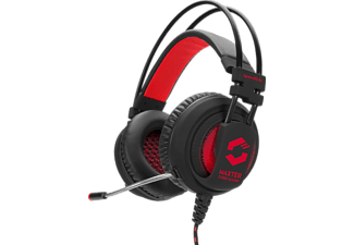 SPEEDLINK, SL-860002-BK, Maxter Stereo Gaming Headset, Gaming Headset, Rot/Schwarz