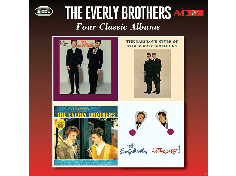 The Everly Brothers - Four Classic Albums [CD]