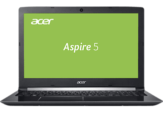 ACER Aspire 5 (A515-51G-8107), Notebook mit 15.6 Zoll Display, Core™ i7 Prozessor, 8 GB RAM, 128 GB SSD, 1 TB HDD, GeForce® MX150, Schwarz