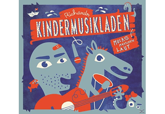 Richard Haus - Richards Kindermusikladen.Mucksmäuschenlaut - (CD)