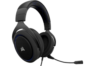 CORSAIR HS50 Stereo Gaming Headset - Blå