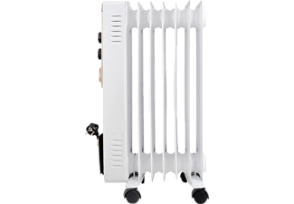 SUNTEC 13782 Heat Safe 1500 PTC-Turbo, Radiator, Weiß