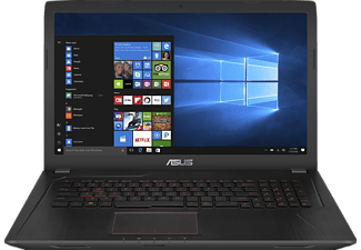 ASUS FX753VD-GC206T, Gaming Notebook mit 17.3 Zoll Display, Core™ i7 Prozessor, 8 GB RAM, 1 TB HDD, 256 GB SSD, GeForce GTX 1050, Schwarz