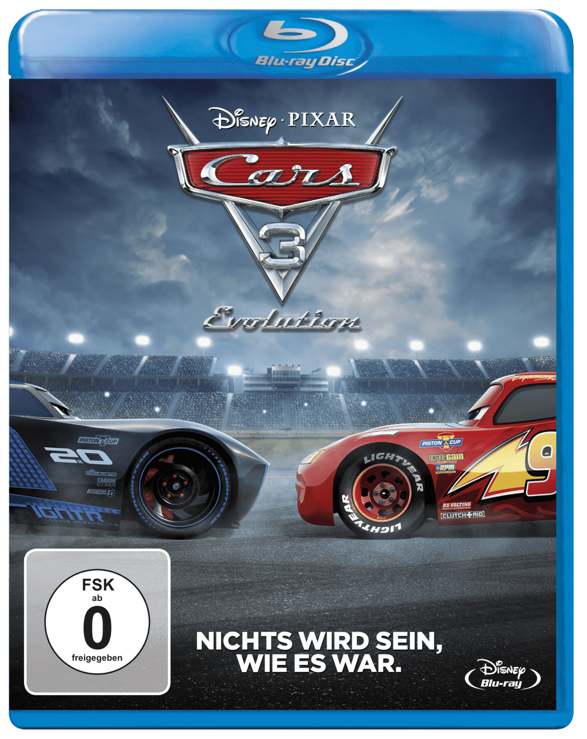 Cars 3: Evolution - (Blu-ray)