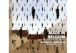 Brussels Chamber Choir - Made In Belgium - (CD)