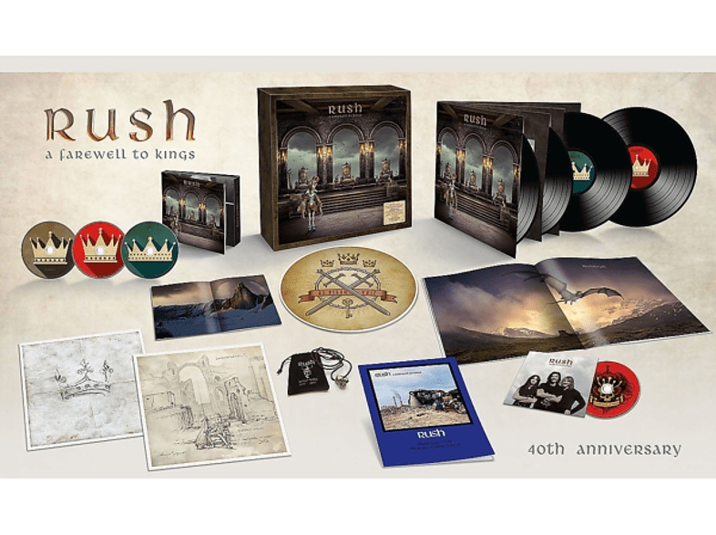 Rush - A Farewell To Kings (Limited Super Deluxe) [CD]