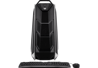 ACER Predator Orion 9000, Gaming PC mit Core™ i9 Prozessor, 16 GB RAM, 256 GB SSD, 1 TB HDD, GeForce® GTX 1080, 8 GB GDDR5X Grafikspeicher