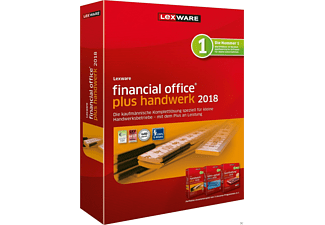 Lexware financial office plus handwerk 2018 Jahresversion (365-Tage)