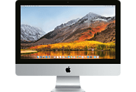 APPLE MMQA2D/A iMac, All-In-One-PC mit 21 Zoll Display, Core i5 Prozessor, 8 GB RAM, 1 TB HDD, Intel® Iris™ Plus-Grafik 640, Silber