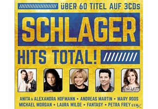 VARIOUS - Schlager Hits Total! - (CD)