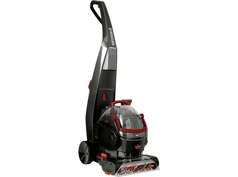 BISSELL 2072N Proheat 2X Liftoff Nasssauger, Grau/Rot
