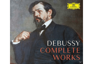 VARIOUS - Debussy-Complete Works - (CD + DVD Video)