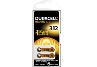 DURACELL Speciality Hearing Aid -batterijen maat 312