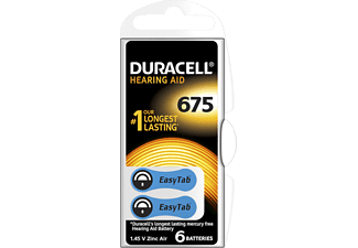 DURACELL Speciality Hearing Aid -batterijen maat 675