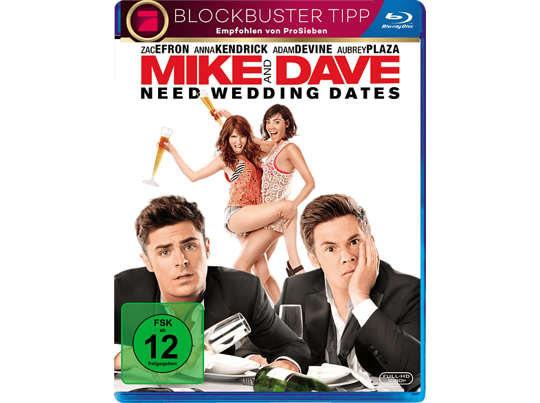 Mike and Dave Need Wedding Dates [Blu-ray]