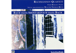 Rachmaninov Quartett - Bach: Meets Shostakovich Meets - (CD)
