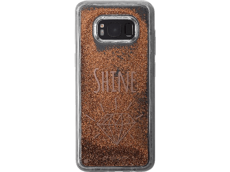 CELLULAR LINE  Shine Backcover Samsung Galaxy S8 Thermoplastische Polyurethan Elastomere Transparent | 08018080312106