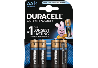 DURACELL Ultra Power AA-batterijen 4 pack