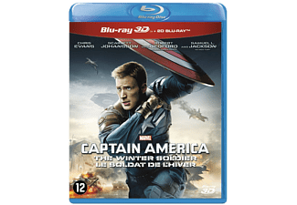 Captain America: The Winter Soldier Blu-ray 3D