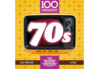VARIOUS - 100 Greatest 70s - (CD)