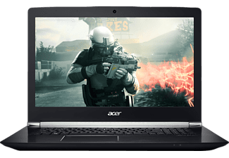 ACER Aspire V 17 Nitro Black Edition (VN7-793G-74M5), Gaming Notebook mit 17.3 Zoll Display, Core™ i7 Prozessor, 8 GB RAM, 256 GB SSD, 1 TB HDD, GeForce® GTX 1050 Ti, Schwarz (Soft Touch)