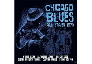 VARIOUS - Chicago Blues All Stars 1970 - (CD)