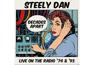 Steely Dan - Decades Apart-Live On The Radio '74 & '93 - (CD)