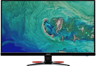 ACER GF276A 27 Zoll Full-HD Gaming Monitor (1x VGA, 1x HDMI (1.4), 1x DisplayPort (1.2a), 1x Audio In Kanäle, 1 ms Reaktionszeit)