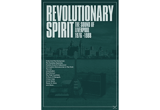 VARIOUS - The Revolutionary Spirit-The Sound Of Liverpool - (CD + Buch)