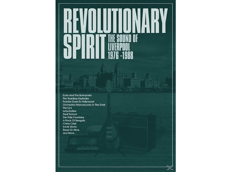 VARIOUS - The Revolutionary Spirit-The Sound Of Liverpool [CD]