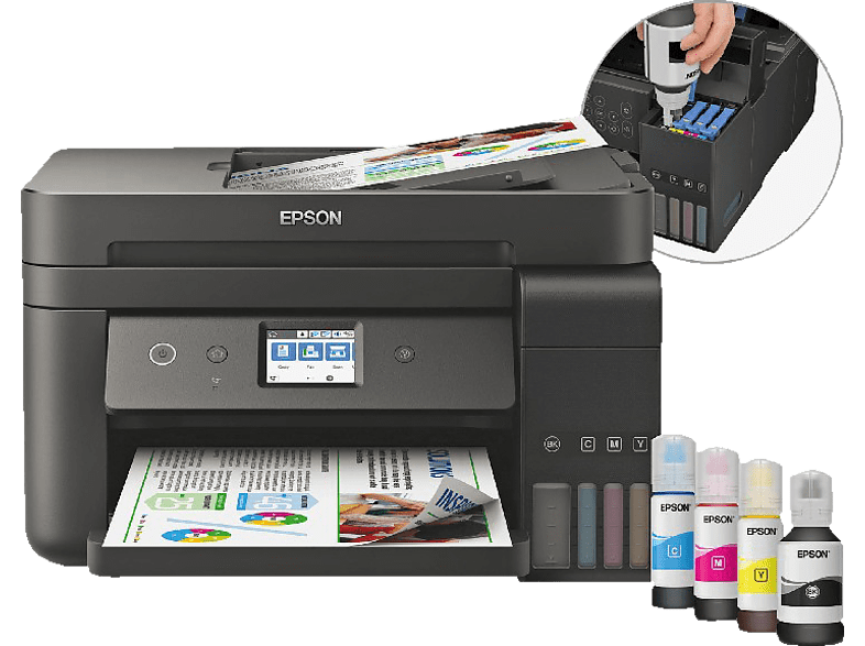 EPSON EcoTank ET-4750 4-in-1 Multifunktionsdrucker