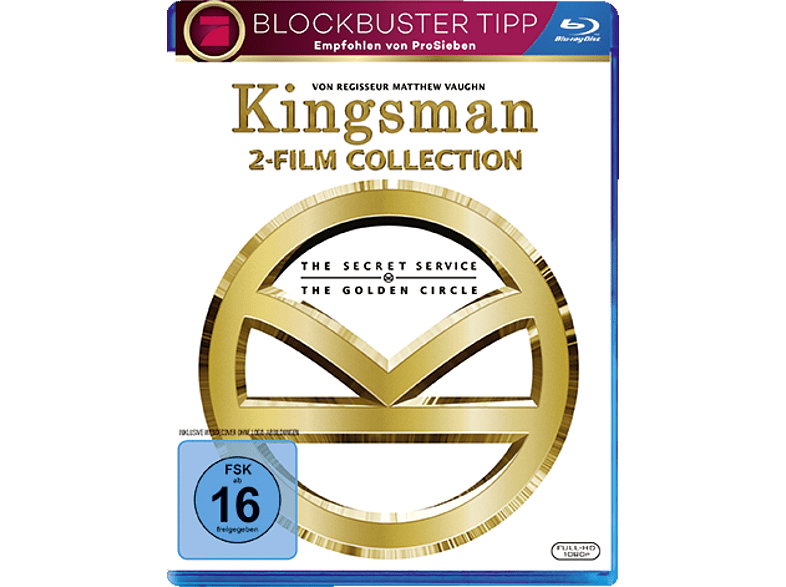 Kingsman 1+2 [Blu-ray]