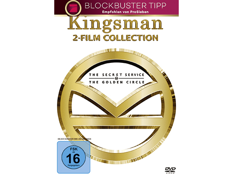 Kingsman 1+2 [DVD]