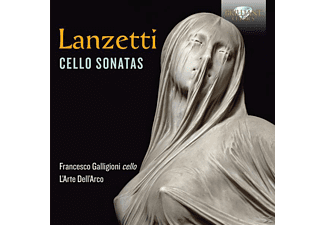 Francesco Galligioni, L'arte Dell' Arco - Cello Sonatas - (CD)