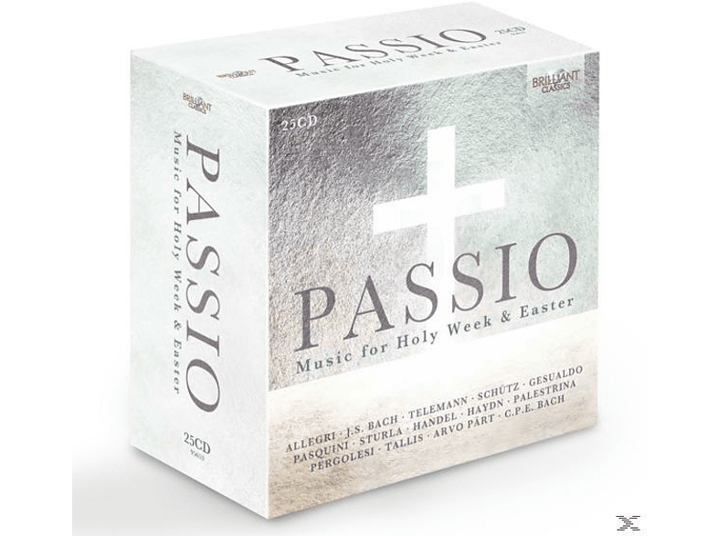 VARIOUS - Passio: Music For Holy Week And Easter [CD]