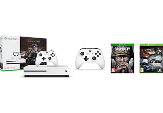 MICROSOFT Xbox One S 500 GB Shadow Of War/ Call Of Duty/ The Crew/ 2. Kumanda