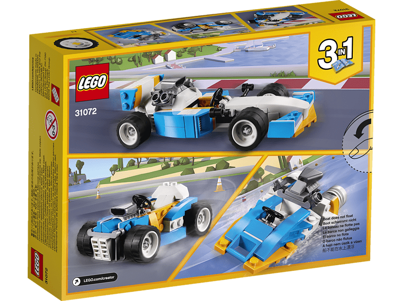 LEGO  Ultimative Motor-Power (31072) Bausatz | 05702016075052