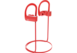 ISY IBH-3500-RD, In-ear Kopfhörer, Bluetooth, Rot