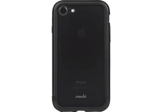MOSHI Moshi iGlaze Luxe Metal Bumper für iPhone7 - (Black) , Black, passend für Apple iPhone 7