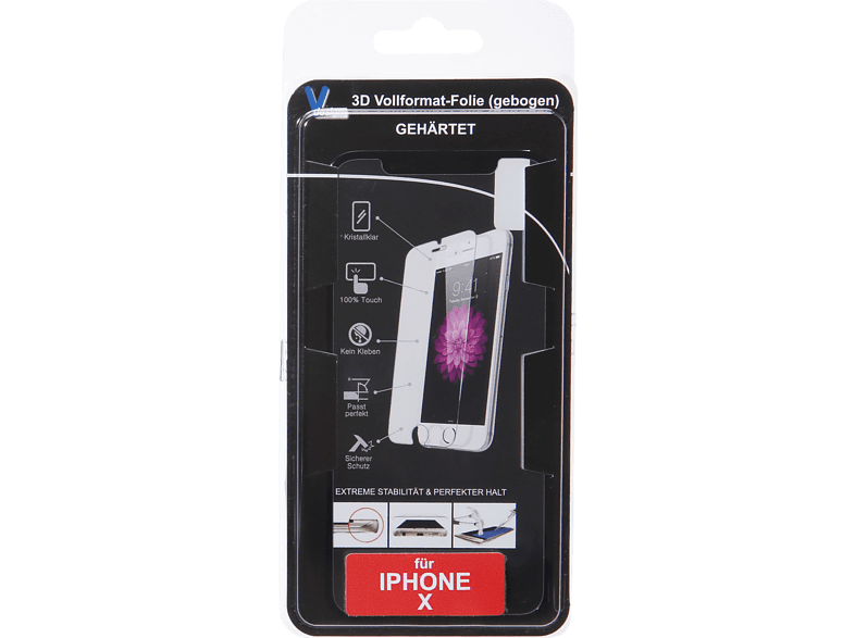 V-DESIGN VFB 017 Schutzglas (Apple iPhone X)