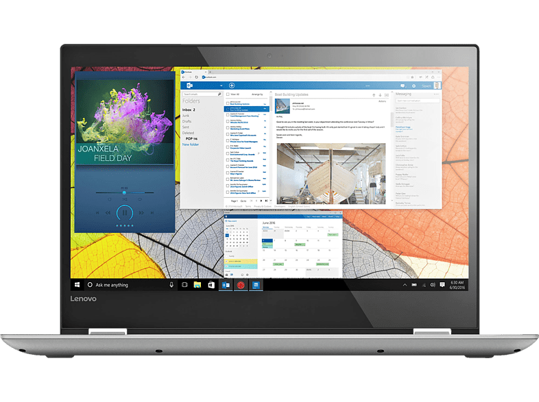 LENOVO Yoga 520 , Intel®Core™ i5, 512 GB SSD, 8 GB RAM, Mineral Grey